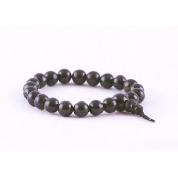 Mala bracelet en onyx noir