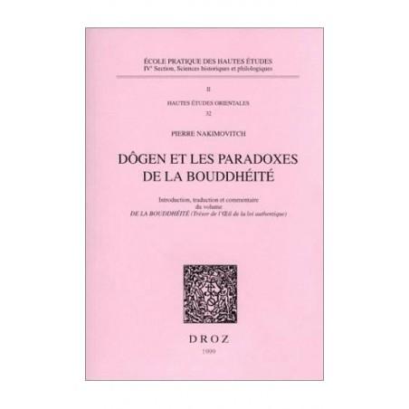 Livre Dôgen et les paradoxes de la bouddhéité