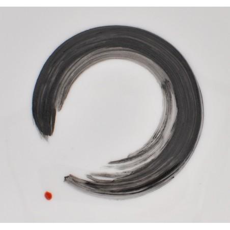 Coupelle « anneau de la voie », pièce numérotée 1/10, Séverine Soulat artiste-peintre sur porcelaine