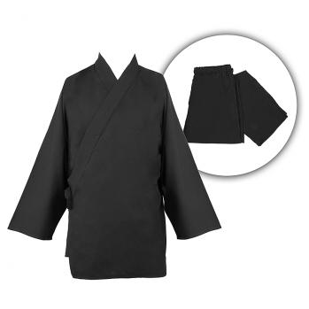 Samue noir classique en coton bio