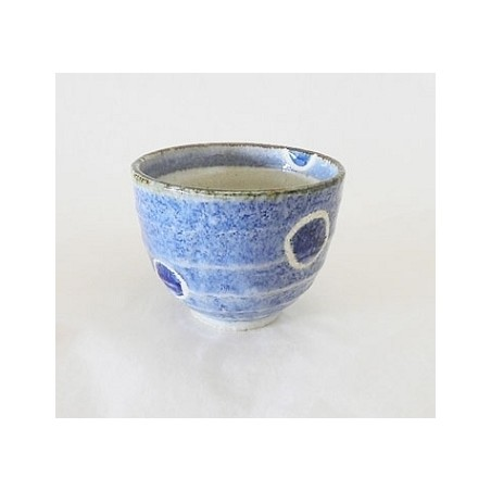 Bol en céramique du Japon, Motifs à points bleus