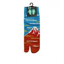 Chaussettes japonaises (tabi), Motif Mont fuji, 39-44