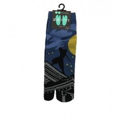 Chaussettes japonaises (tabi), Motif Ninja, 39-44