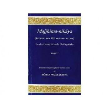 """Majjhima Nikaya"" Recueil des 152 Moyens Suttas du Bouddha, Tomes de 1 à 5"