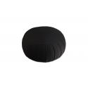 Zafu de voyage (kapok) noir pour la méditation