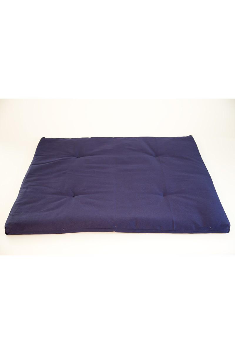 zafuton l ger voyage bleu nuit. Black Bedroom Furniture Sets. Home Design Ideas