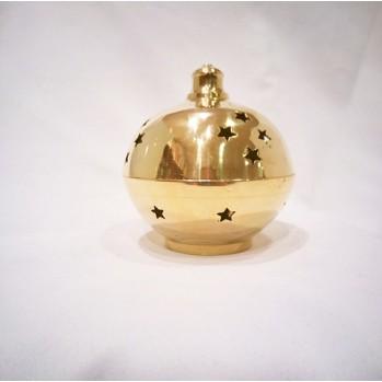 Brûle encens doré 8 cm
