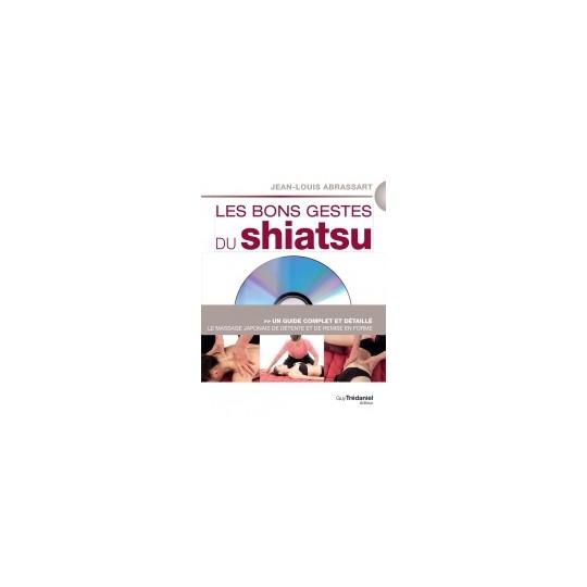 Livre Les bons gestes du shiatsu avec DVD