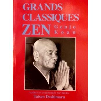 Livre Le Genjokoan, textes zen, Taisen Deshimaru enseignements