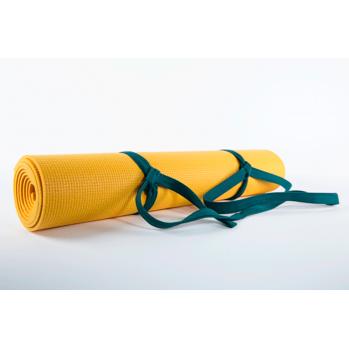 Tapis de yoga jaune
