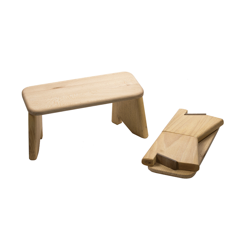 banc de m ditation d montable paris boutique zen. Black Bedroom Furniture Sets. Home Design Ideas