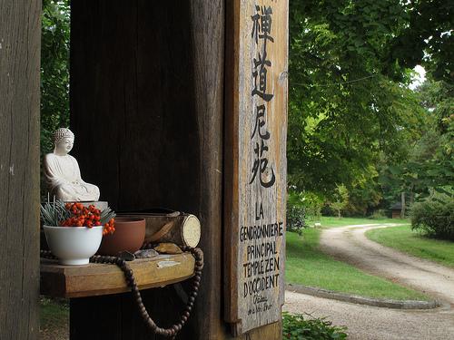 le bouddha de la cloche de la Gendronnière
