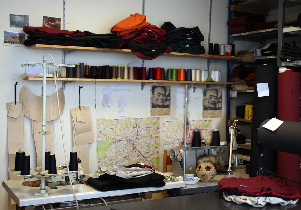 Notre atelier de couture à Paris