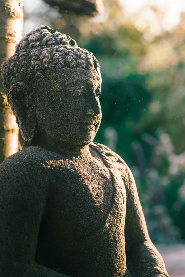 posture de méditation : bouddha