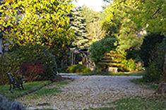 le parc du Temple Zen de la Gendronnière