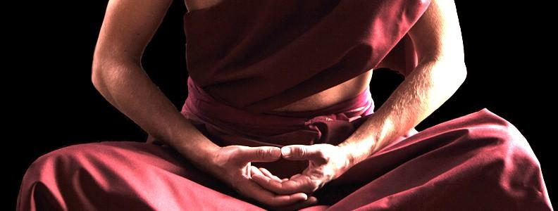 Sur la posture de méditation